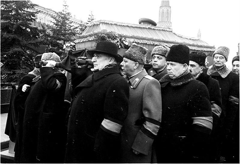 Похороны Сталина.
