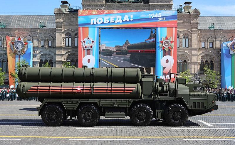 Военная мощь России на параде 9 мая.