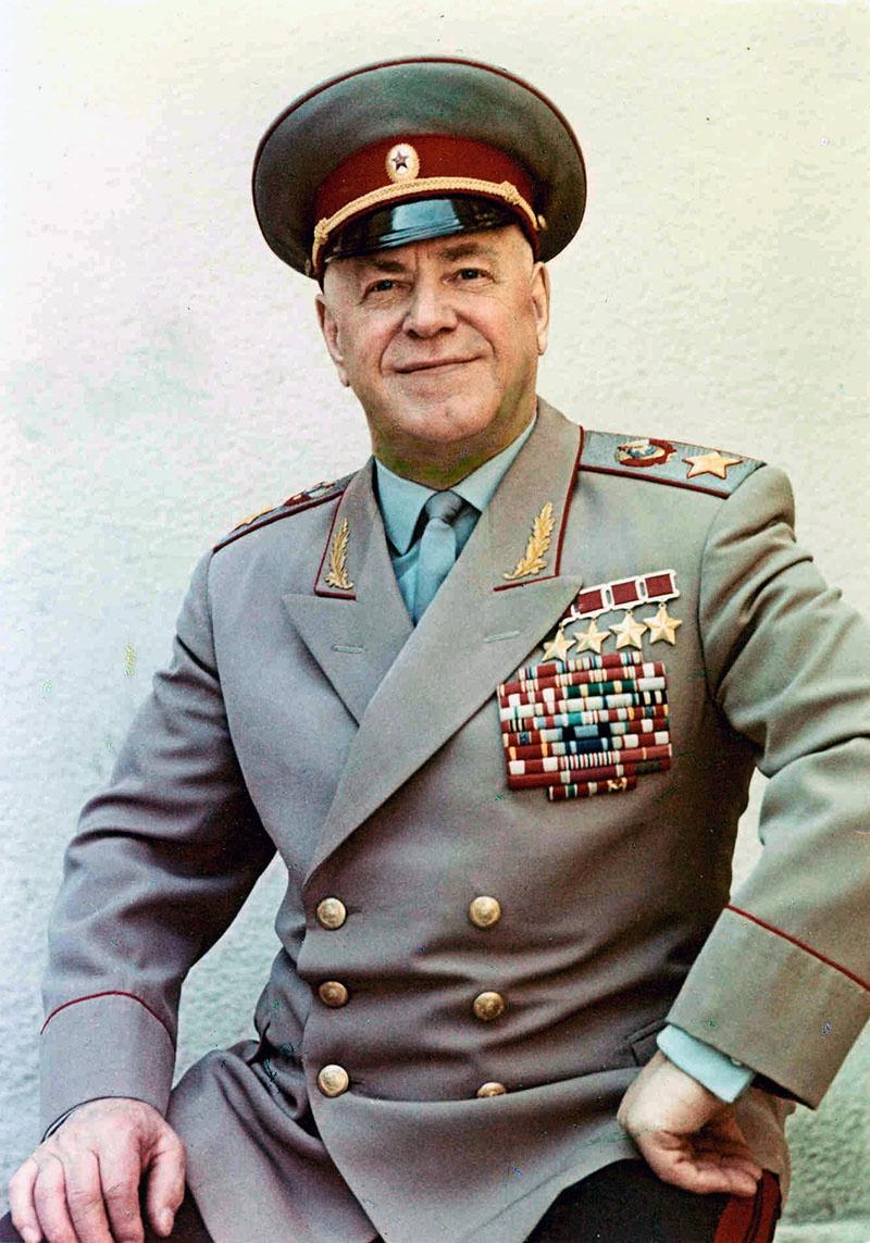 Маршал Советского Союза Г.К. Жуков.