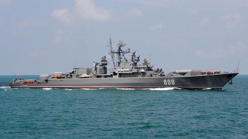 Сторожевой корабль Черноморского флота «Пытливый».