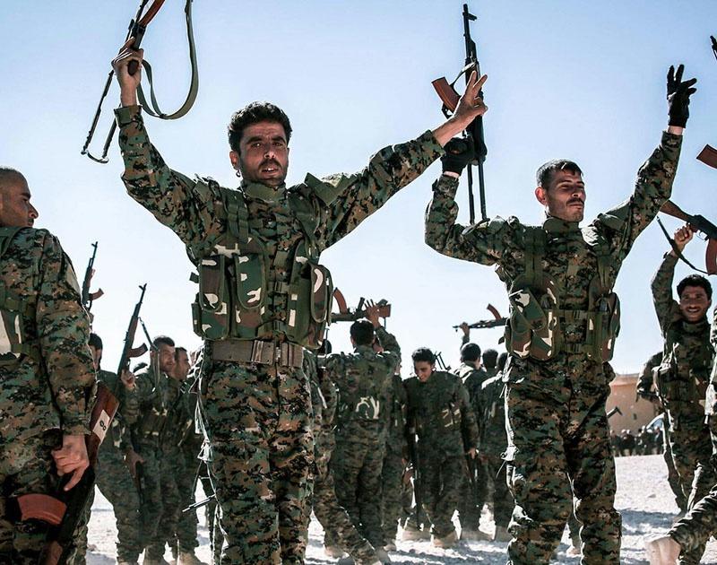 Пока не известно, как курды отреагируют на уход американцев.