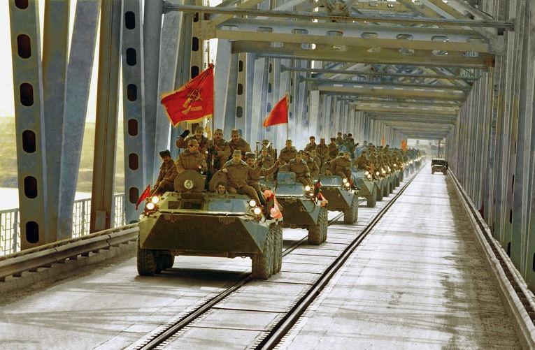 Вывод советских войск из Афганистана.