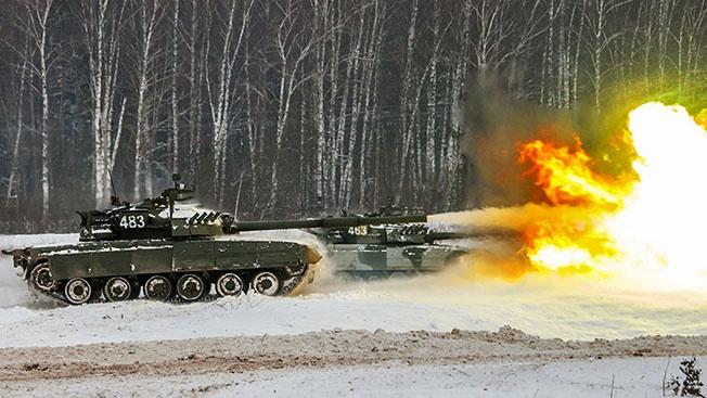 Молниеносный «Рефлекс» российских танков