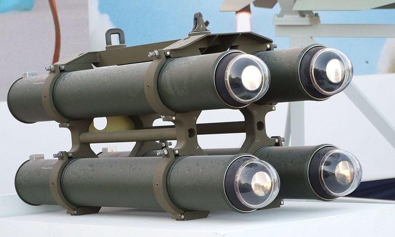 Израильская ракета Lahat.