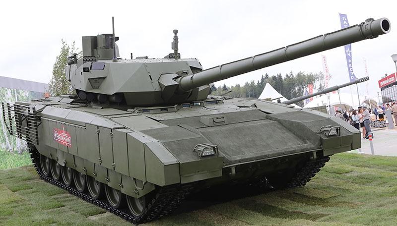 Комплекс «Рефлекс» подходит для танковой пушки калибра 125 мм танка Т-14 «Армата».