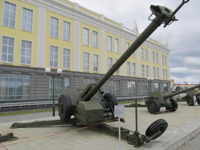 Противотанковая пушка 2А45М «Спрут-Б».