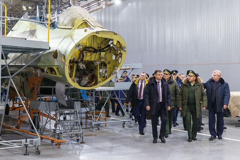 Истребитель Су-30СМ собирается для иностранного заказчика.