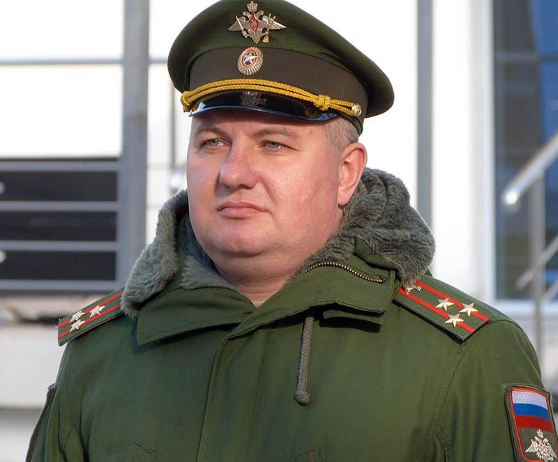 Полковник Игорь Дробот.