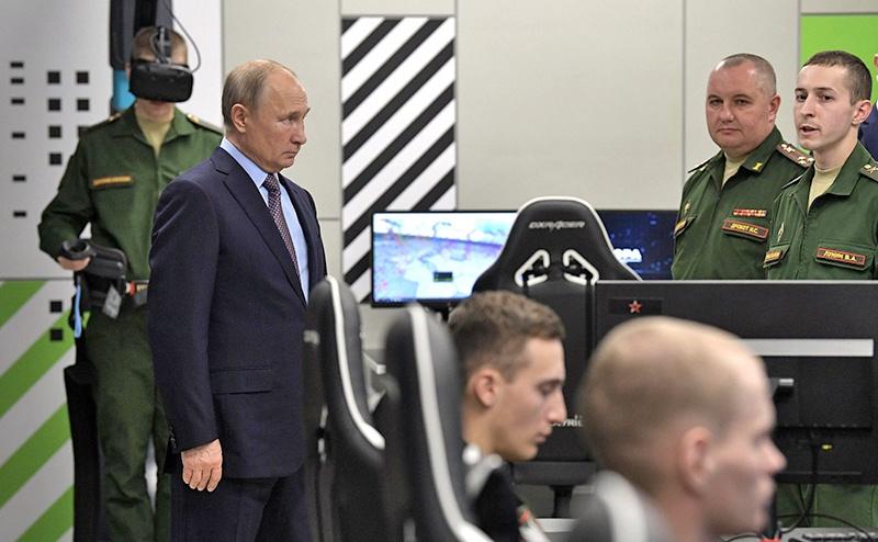 Посещения «ЭРЫ» Верховным главнокомандующим Владимиром Путиным.