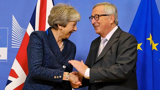 Как Лондон угодил в капкан  Брюсселя