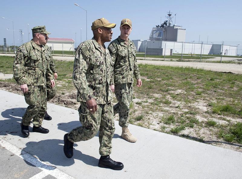 Американская база ПВО в Девеселу.