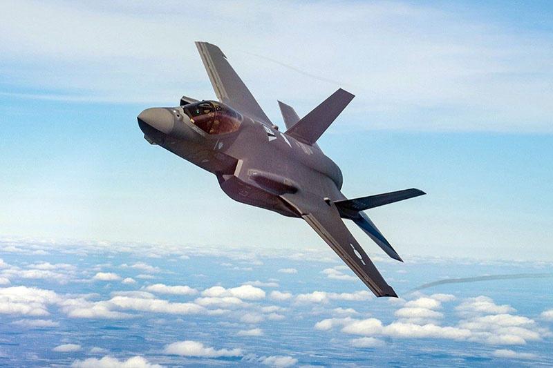 Истребитель F-35 Lightning II.
