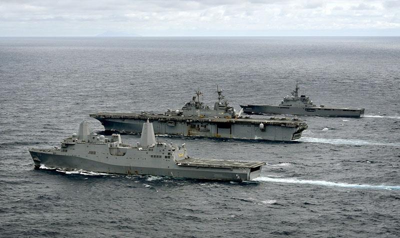 Экспедиционная группа американских ВМС.