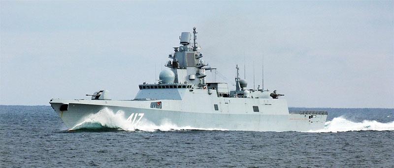 Фрегат «Адмирал флота Советского Союза Горшков».