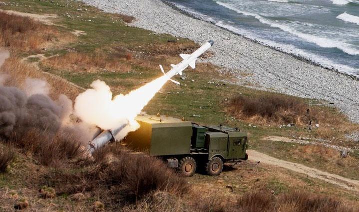 Ракетный комплекс береговой обороны «Бал».