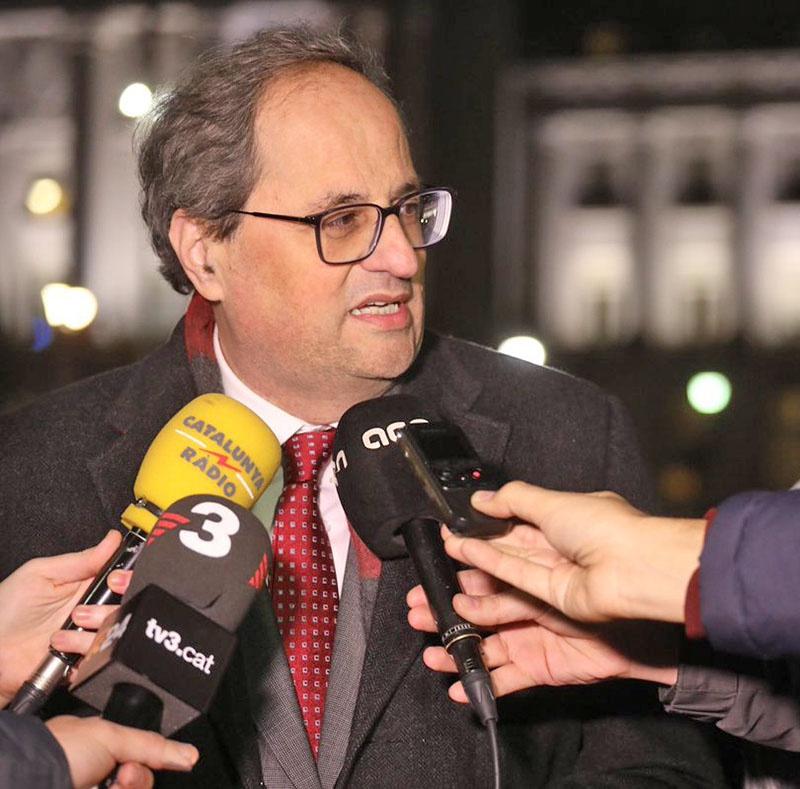 Глава женералитета Каталонии Ким Торра.