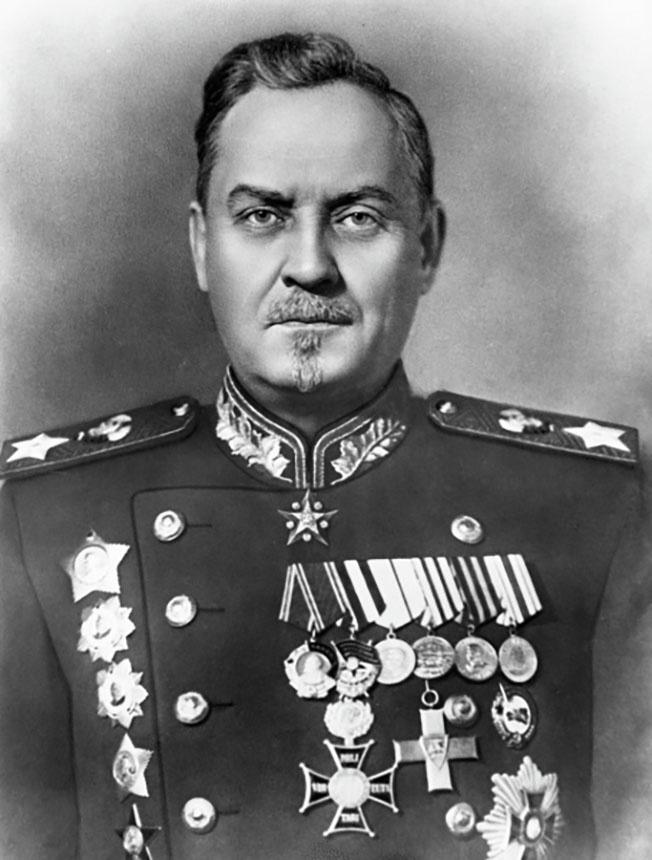 Маршал Советского Союза Николай Булганин.