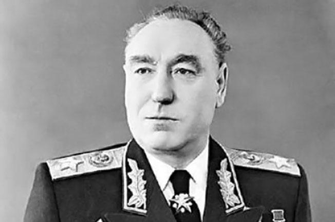 Маршал С.С. Бирюзов.