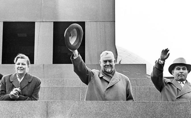 Звездный час - Николай Булганин Председатель Совета Министров СССР.