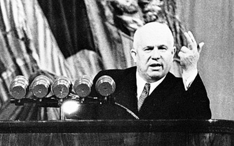 Попытка сместить Н.Хрущева не удалась.