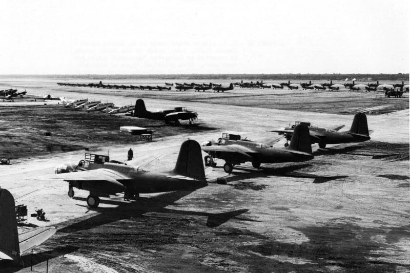 Самолеты полученные по ленд-лизу из США.
