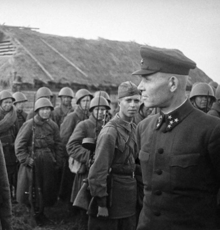 Генерал-полковник И.С. Конев.
