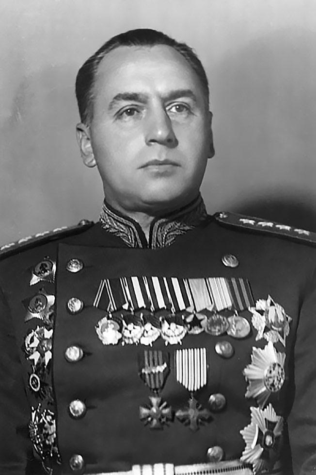Заместитель начальника Генерального штаба генерал армии А.И. Антонов.