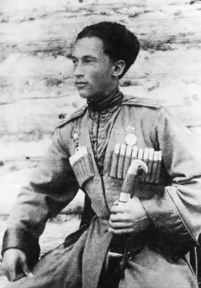 Олег Ивановский в 1943 году.