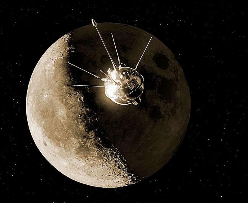 Межпланетная станция «Луна-1».