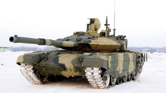 Т-90МС получил новейшую систему управления войсками