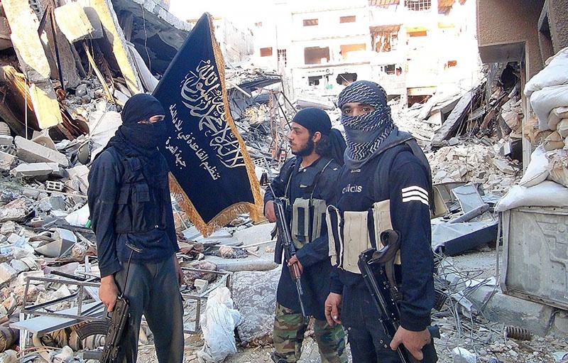 Бойцы из запрещенной группировки «Джабхат ан-Нусра» в Идлибе.