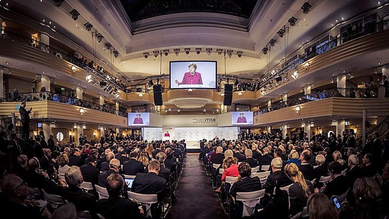 Мюнхенская речь Меркель.