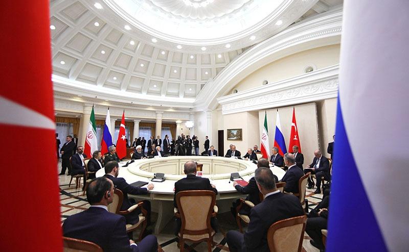 Москва, Анкара и Тегеран демонстрировали в Сочи согласие по ряду вопросов.