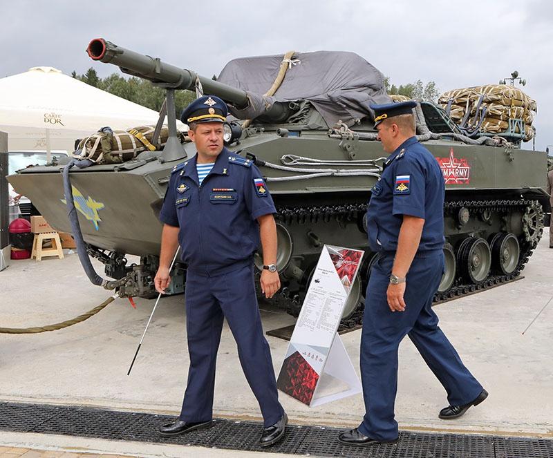 Боевая машина десанта БМД-4М уже принята вооружение в ВДВ.