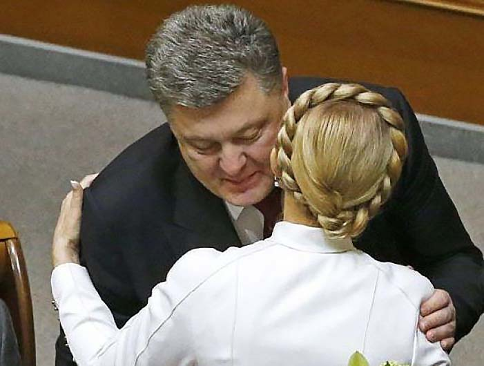 Порошенко и Тимошенко. Третий лишний...