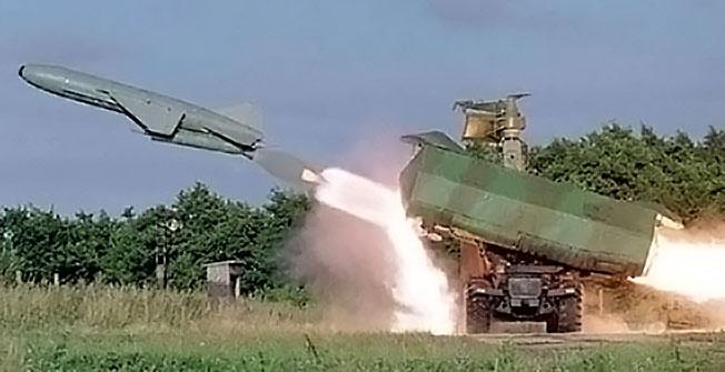 Береговые ракетные комплексы (БРК) «Рубеж».