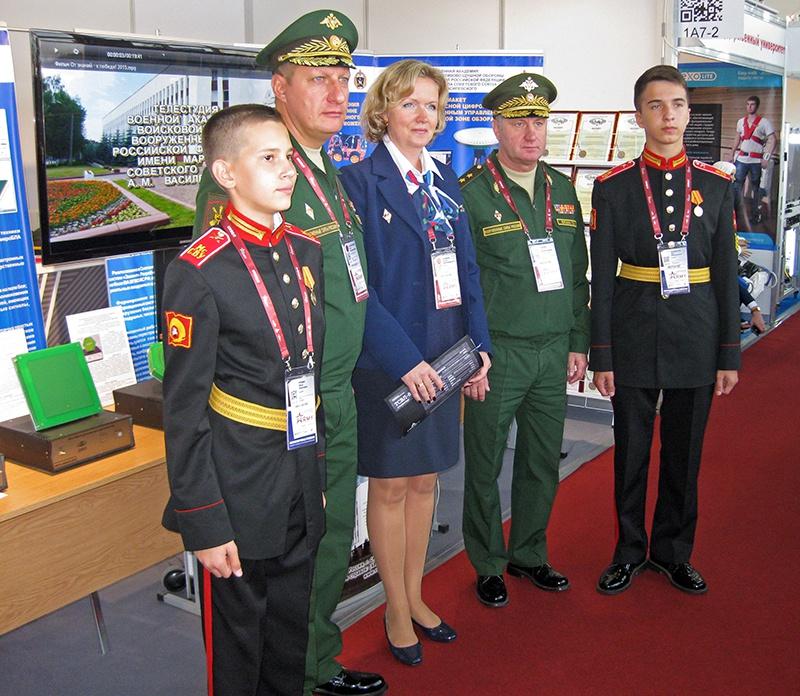 Генералы и кадеты ПВО России.