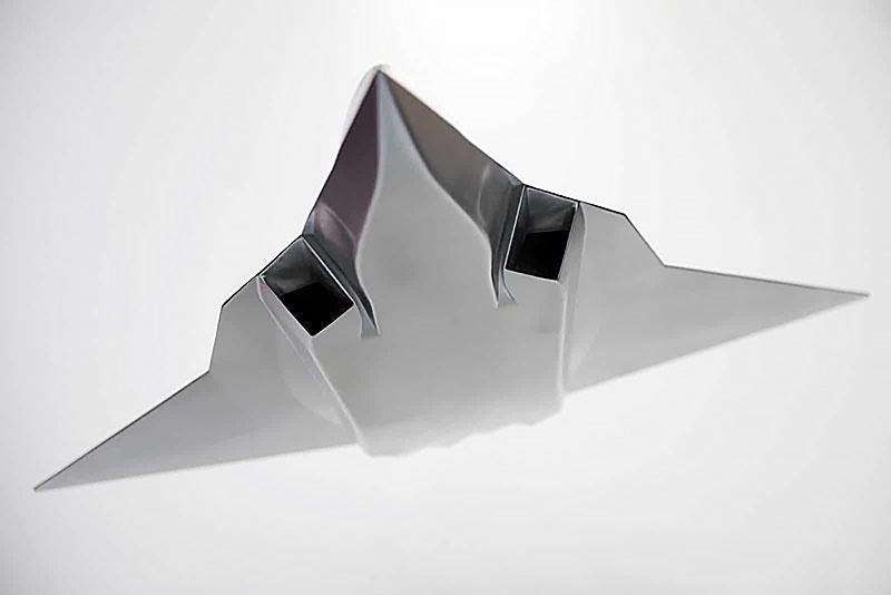 Общий концептуальный вид истребителя VI поколения.