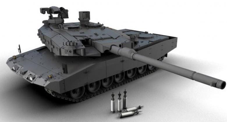 Main Ground Combat System - в разработке танк нового поколения.