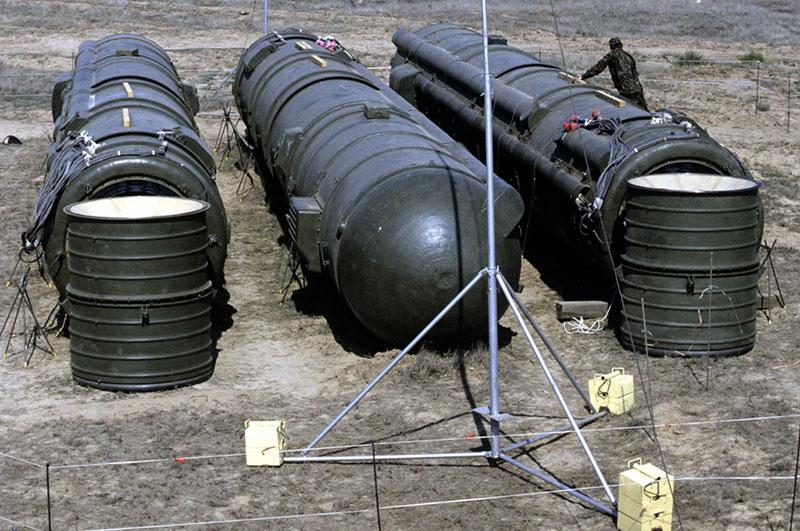 Ракеты РСД-10 подготовленные к уничтожению по программе Нанна-Лугара.