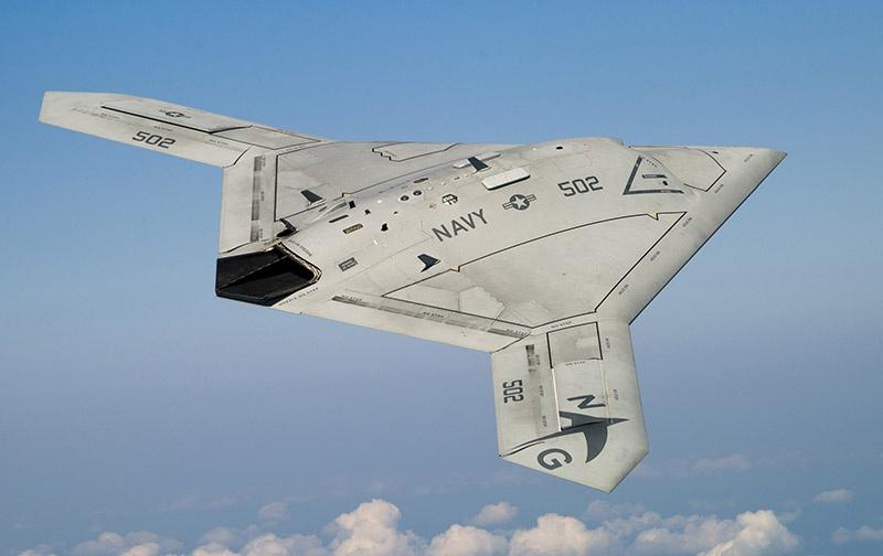 Northrop Grumman X-47B.
