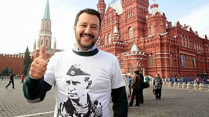 Вице-премьер и министр внутренних дел Италии Маттео Сальвини откровенно симпатизирует Кремлю.