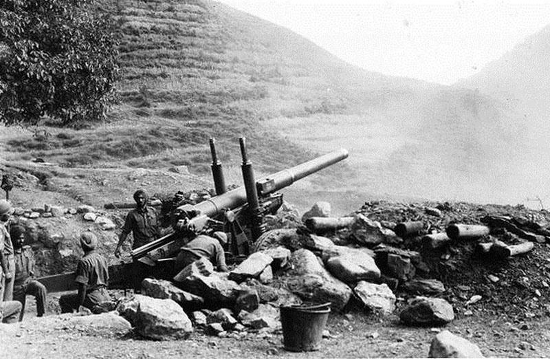 Первая война между Индией и Пакистаном 1947 года.