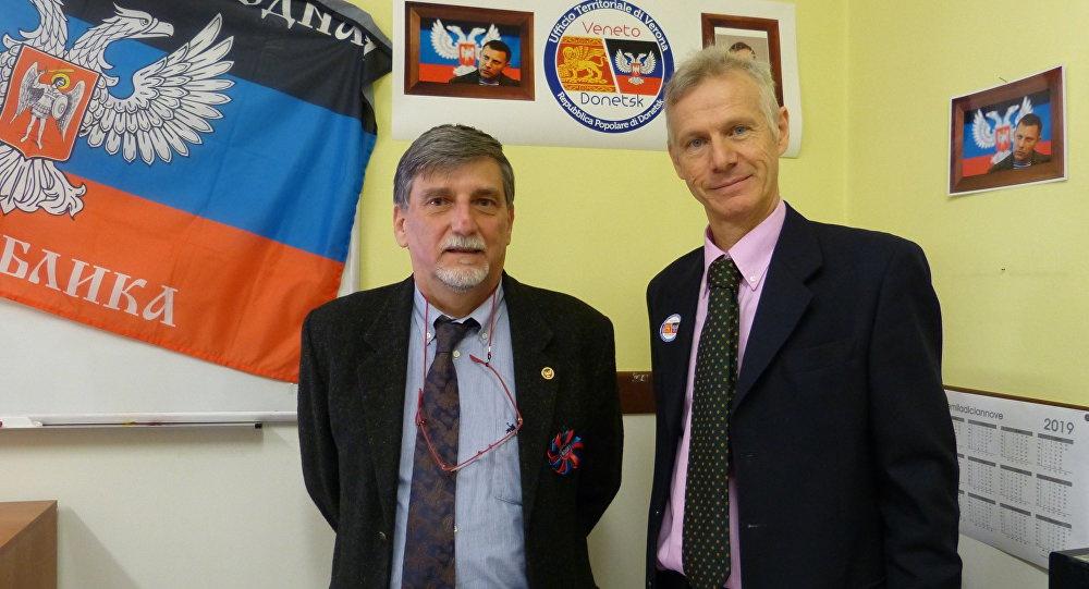 В Вероне 9 февраля было открыто представительство Донецкой Народной Республики. Руководителем веронского офиса является г-н Пальмарино Зокателли, которому помогает г-н Альберто Маганья.
