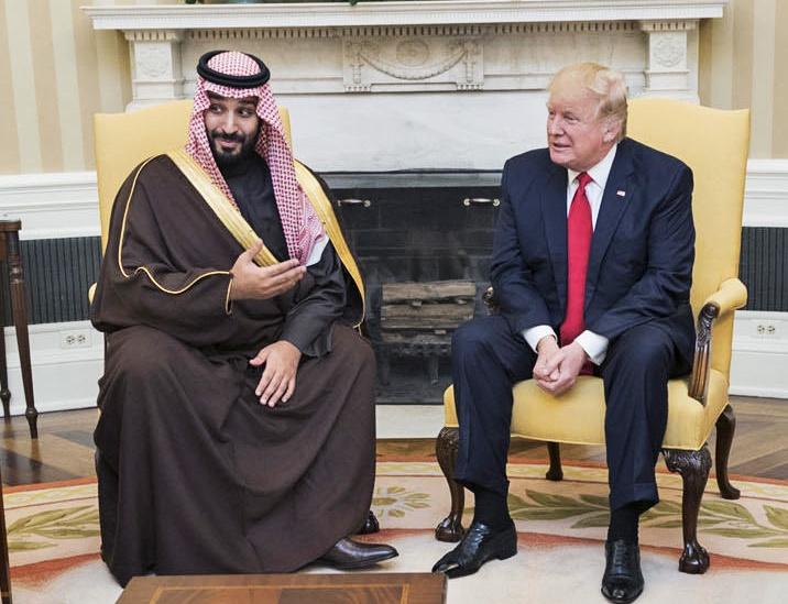 Дональду Трампу частично удалось вывести из-под удара саудовского кронпринца.