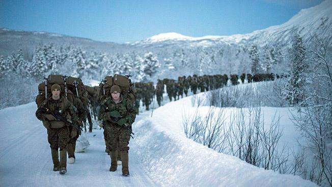 Отряд морской пехоты США в Норвегии скоро увеличится в два раза.