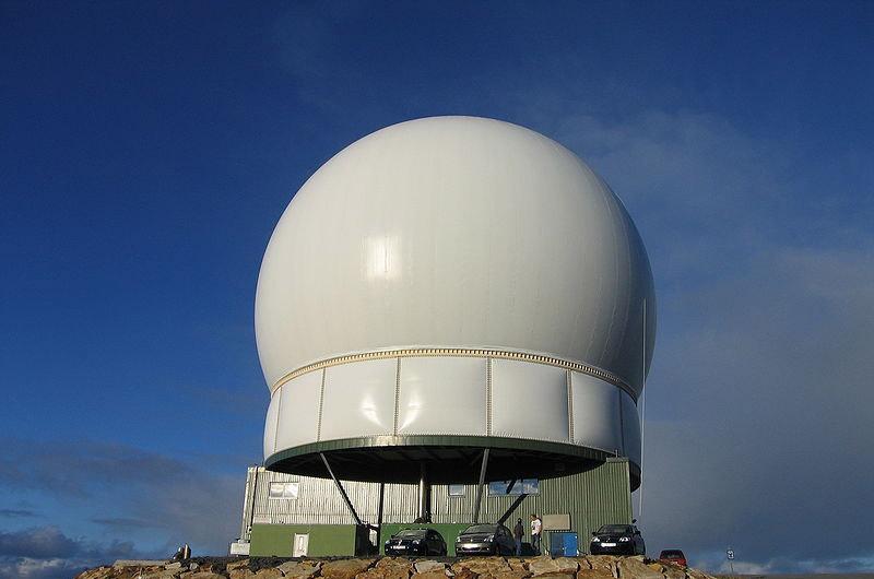 Американская радиолокационная станция ПРО «Глобус-2» в Вардо, рядом с границей с Россией.