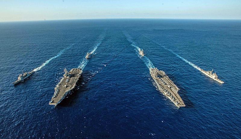 Американский флот пытается не дать КНР закрепиться в регионе.
