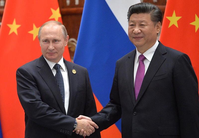 Президент РФ Владимир Путин на встрече с председателем КНР Си Цзиньпином в 2016 году.