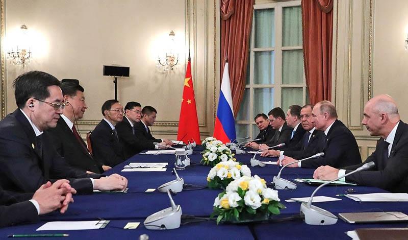 Москва и Пекин достигли компромисса путем переговоров.